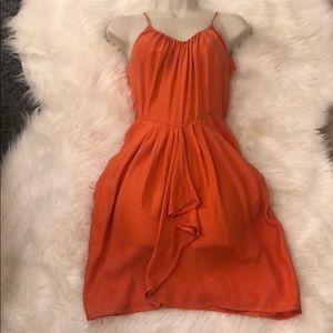 Rebecca Taylor Orange Dress